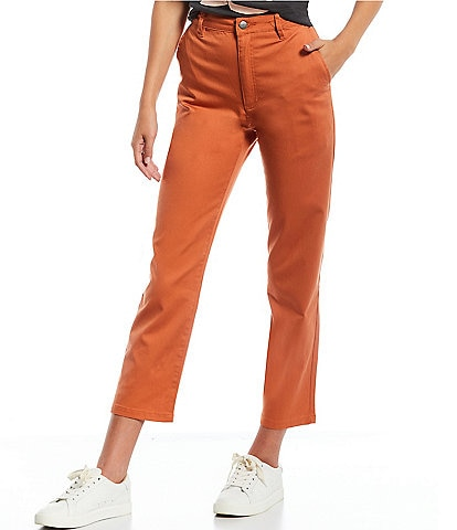 RVCA Weekend Straight-Fit Stretch Chino Pants