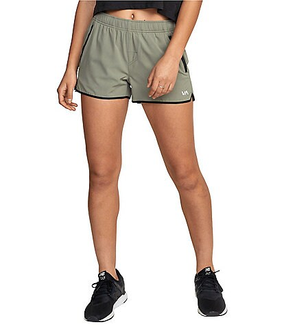 RVCA Women's Yogger Vetiver Stretch Shorts