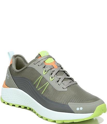 Ryka Kaya Water-Repellent Suede Lace-Up Trainer Sneakers
