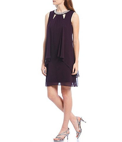 Ignite Evenings Split Front Dress