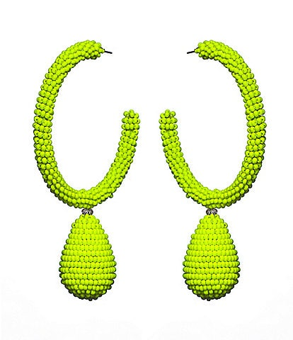 Sachin & Babi Ava Hoop Statement Earrings