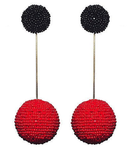 Sachin & Babi Elizabeth Beaded Statement Earrings