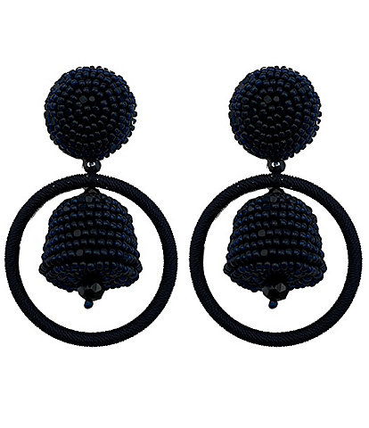 Sachin & Babi Palmer Hoop Statement Earrings