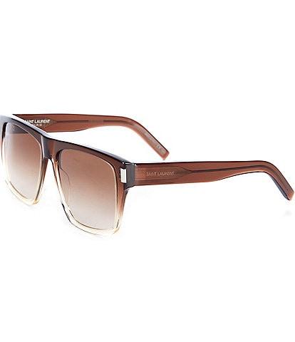 Saint Laurent Rectangle 56mm Sunglasses
