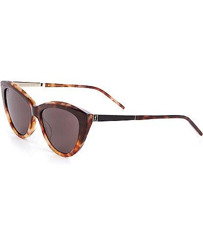 Saint Laurent Women's Cat Eye 55mm Sunglasses