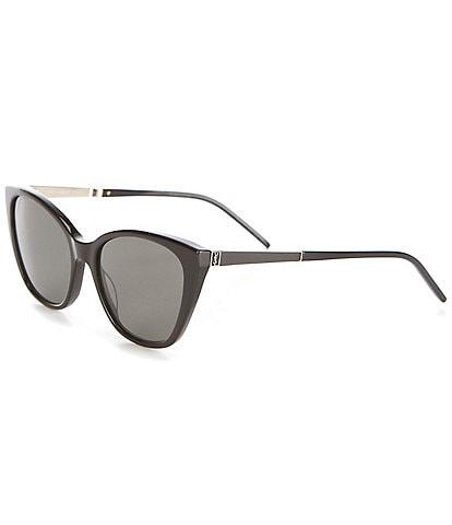 Saint Laurent Women's Cat Eye 56mm Sunglasses