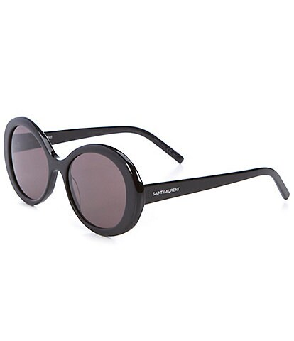 Saint Laurent Women's Round 56mm Sunglasses