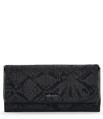Sakroots Arcadia Makena Embossed Trifold Wallet
