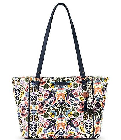 Sakroots Artist Circle Metro Floral Tote Bag