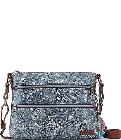 Sakroots Basic Zip Crossbody Bag