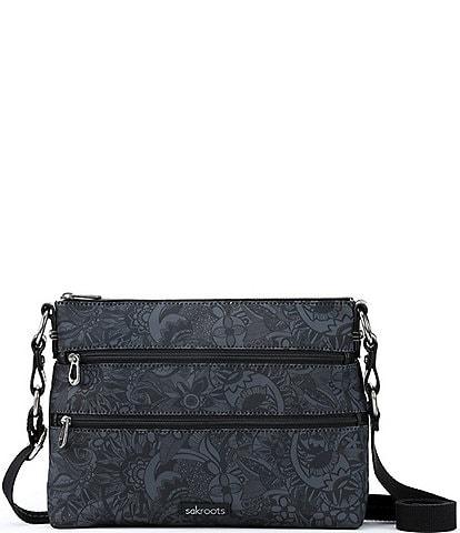 Sakroots Basic Zip Top Crossbody Bag