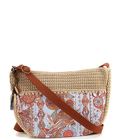 Sakroots EcoTwill Collection Ryder Crescent Crossbody Bag