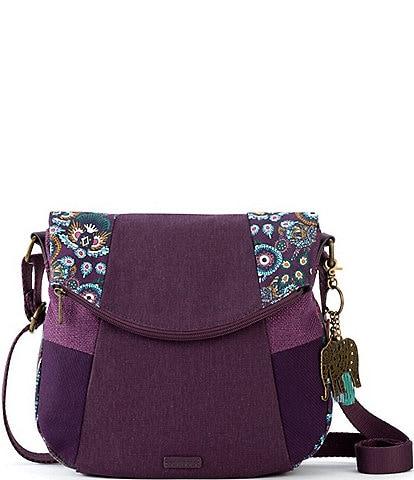 Sakroots Foldover Colorblock Crossbody Bag