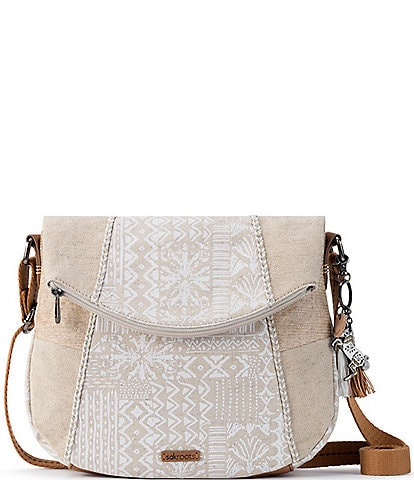 Sakroots Foldover Colorblock Crossbody Bag