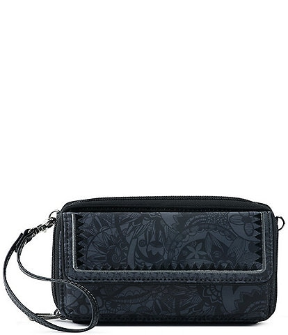 Sakroots Eco-Twill Luna Phone Convertible Crossbody Wristlet