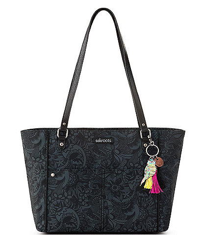 Sakroots Medium Paisley Print Nylon Tote Bag