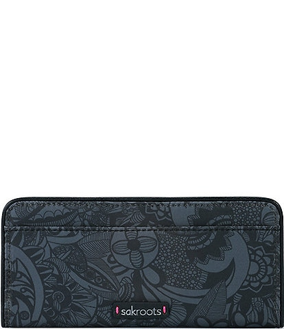 Sakroots Slim Snap Wallet