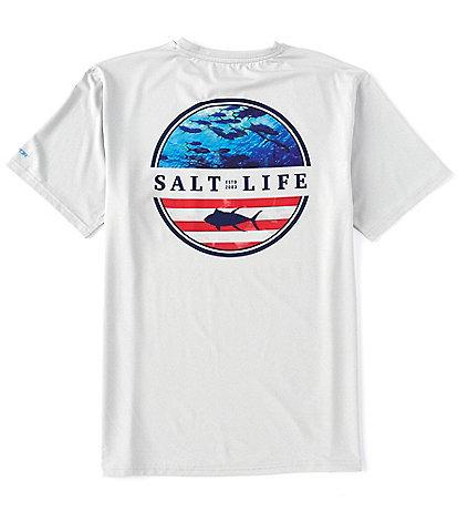 Salt Life Respect Short-Sleeve Graphic Pocket UVAPOR™ Rashgaurd Tee