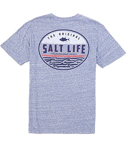 Salt Life Short-Sleeve Finz Badge Graphic T-Shirt