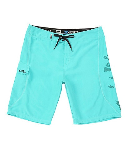 Salt Life Stealth Bomberz 22#double; Outseam Board Shorts