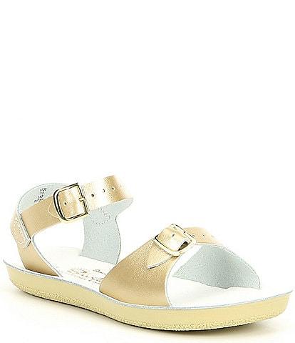 Saltwater Sandals by Hoy Girls' Sun-San Surfer Water Friendly Sandals (Infant)