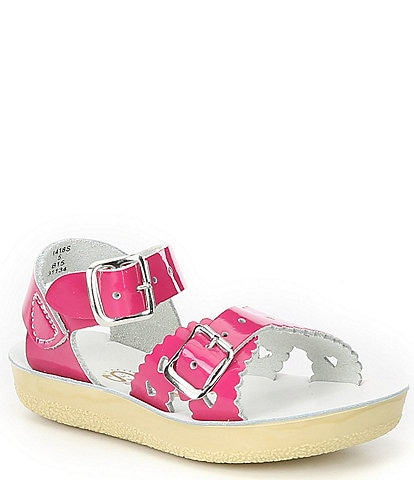 Saltwater Sandals by Hoy Girls' Sun-San Sweetheart Sandals Infant