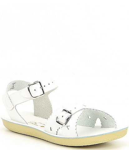 Saltwater Sandals by Hoy Girls' Sun-San Sweetheart Water Friendly Sandals Infant