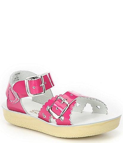 Saltwater Sandals by Hoy Girls' Sun-San Sweetheart Sandals Toddler