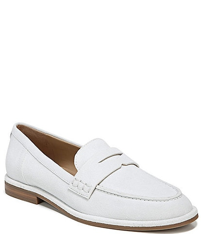 Sam Edelman Birch Suede Leather Slip-On Penny Loafers