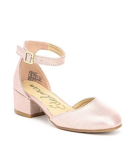 Sam Edelman Girls' Evelyn Sue Ankle Strap Block Heel Dress Shoes