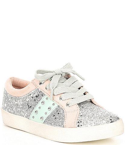 Sam Edelman Girls' Geri Starpower Glitter Sneakers Youth