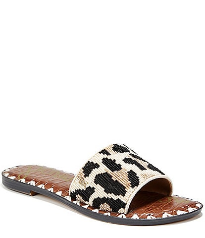 a820038ba3b6 Sam Edelman Gunner Beaded Embellishment Sandals