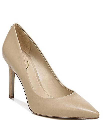 Sam Edelman Hazel Leather Pointed Toe Pumps 021c964054a7