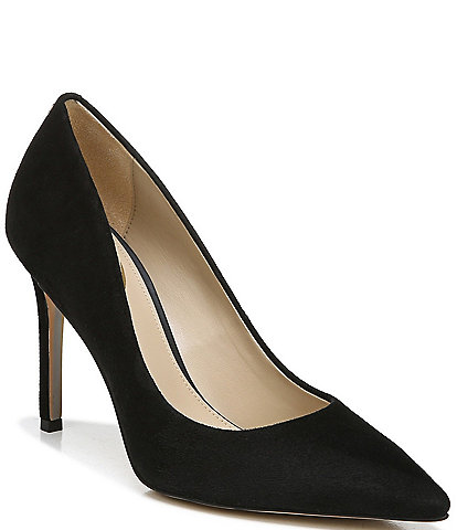 7a6781ec6395 Sam Edelman Hazel Suede Pointed-Toe Pumps