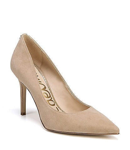 Sam Edelman Hazel Suede Pointed-Toe Pumps