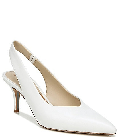 Sam Edelman Jeckel Leather Slingback Pumps