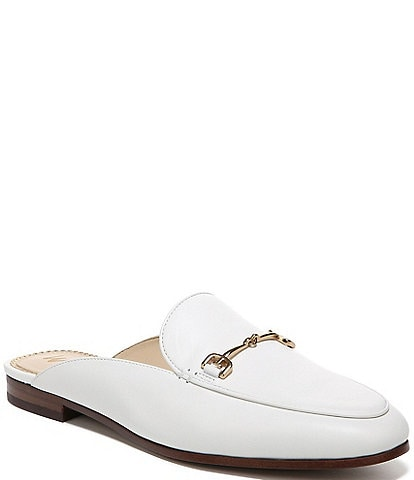 Sam Edelman Linnie Leather Slip-On Mules