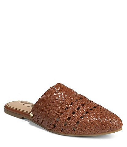 9566e357773 Sam Edelman Natalya Woven Leather Mules