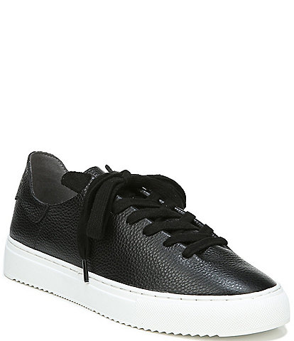 Sam Edelman Poppy Tumbled Leather Lace Up Sneakers