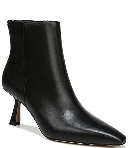 Sam Edelman Samantha Leather Kitten Heel Booties