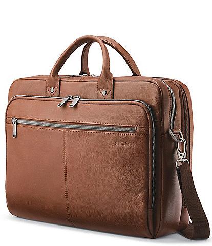 Samsonite Classic Leather Toploader Brief Case