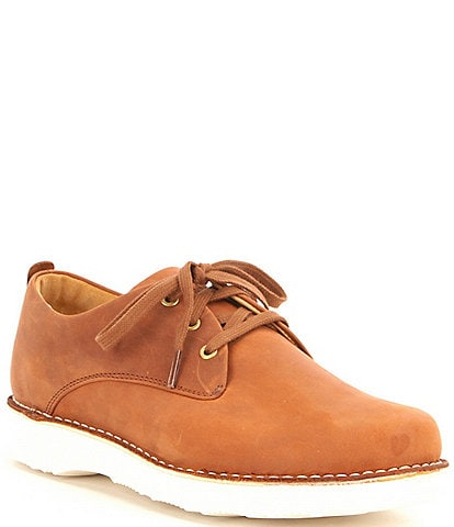 Samuel Hubbard Men's Hubbard Free Waxhide Leather Oxfords
