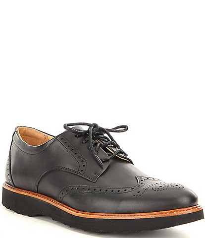 Samuel Hubbard Men's Tipping Point Leather Wingtip Oxfords