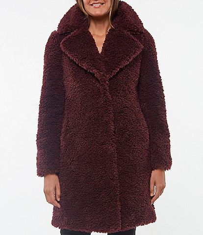 Sanctuary Curly Sherpa Coat