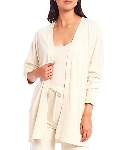Sanctuary Essential Long Sleeve Open Front Cardigan