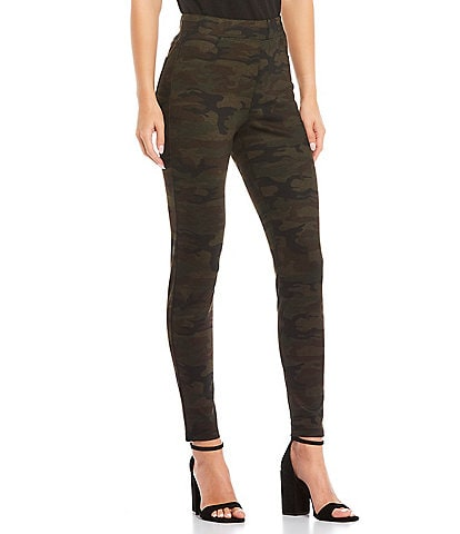 Sanctuary Forest Camo Print Runway Legging