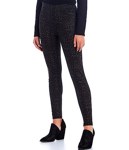 Sanctuary Latte Leo Animal Print Runway Leggings