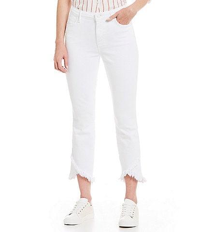 Sanctuary Modern Standard Straight Wide Leg Crop Jeans