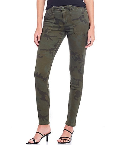 Sanctuary Palmer Cigarette Stretch Chino Camo Print Pant