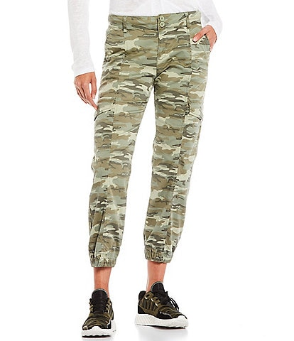 Sanctuary Rebel Camo Cargo Pocket High Rise Ankle Pants